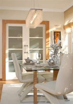 light_fixture_magic_gallery_1 - Rectangular Lighting Fixture Dining Room